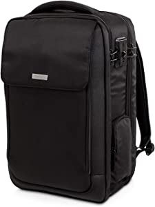 "Kensington SecureTrek 17"" Lockable Anti-Theft Laptop & Overnight Backpack (K98618WW)"