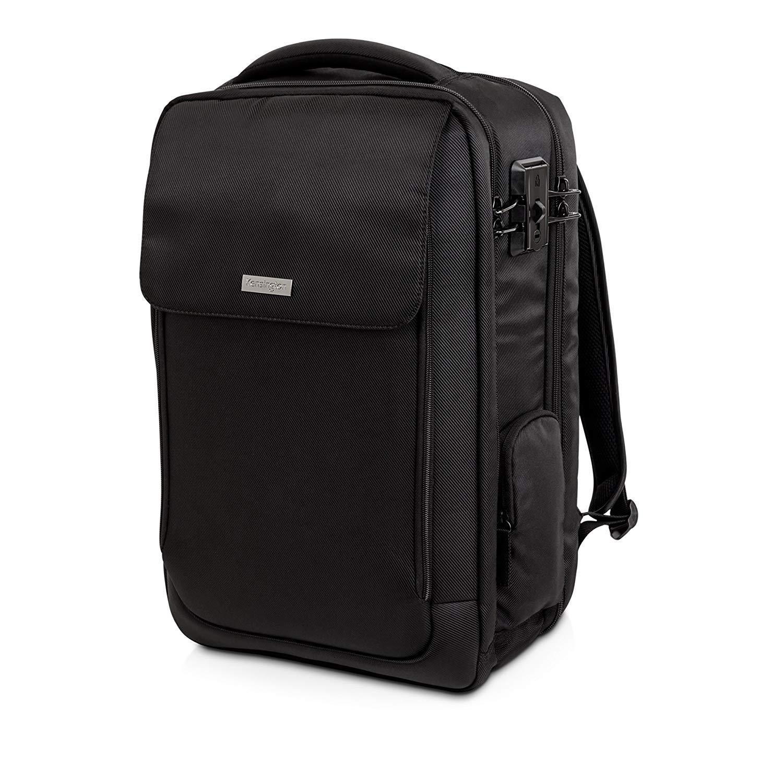 Kensington SecureTrek 17 Lockable Anti-Theft Laptop Overnight Backpack K98618WW