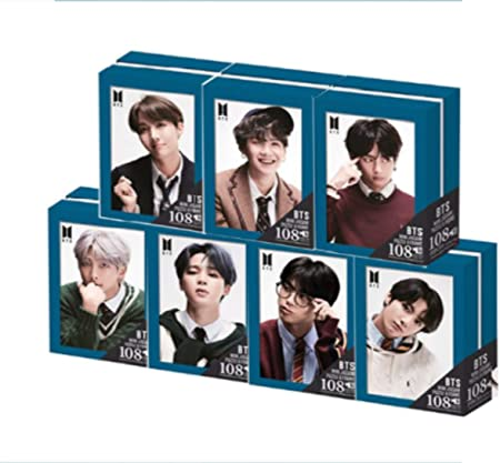 All Seven BTS Frame Jigsaw Puzzle 108 Pieces Set/Each Box Contains a Jigsaw Puzzle, a Framed Box, and a PET Printing Transparent Photo Card. / Made by South Korea