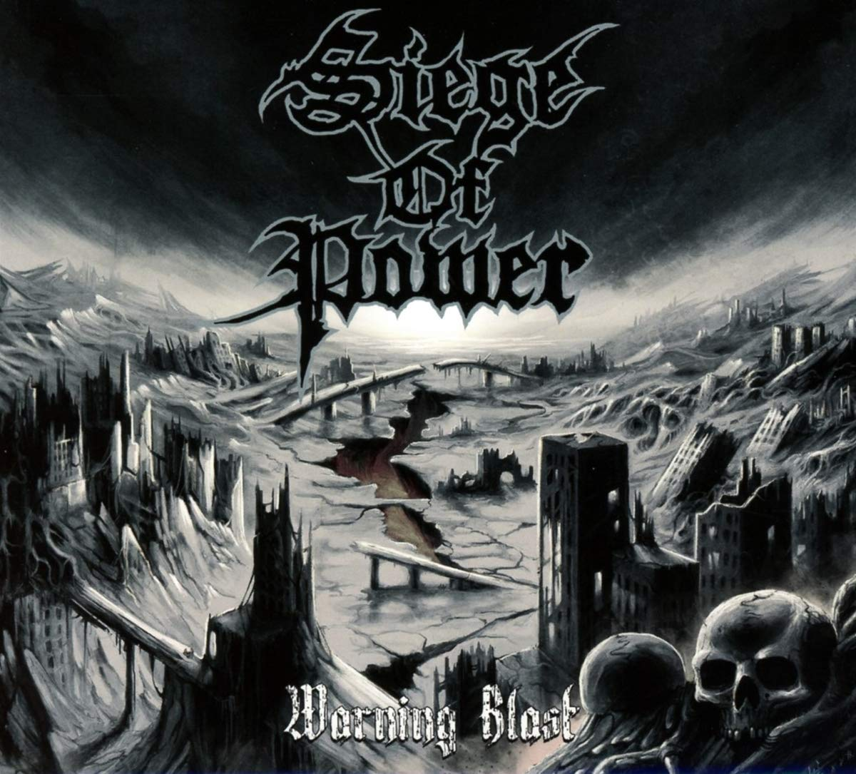 CD : Siege of Power - Warning Blast (Limited Edition, Digipack Packaging, United Kingdom - Import)