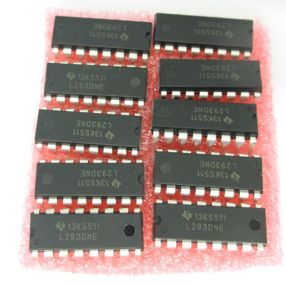 L293dne L293d Dip 16 Pin Ic Stepper 4 Channel Motor Drivers Driver Circuit Embed4u Controllers Pack Of 10pcs Industrial Scientific
