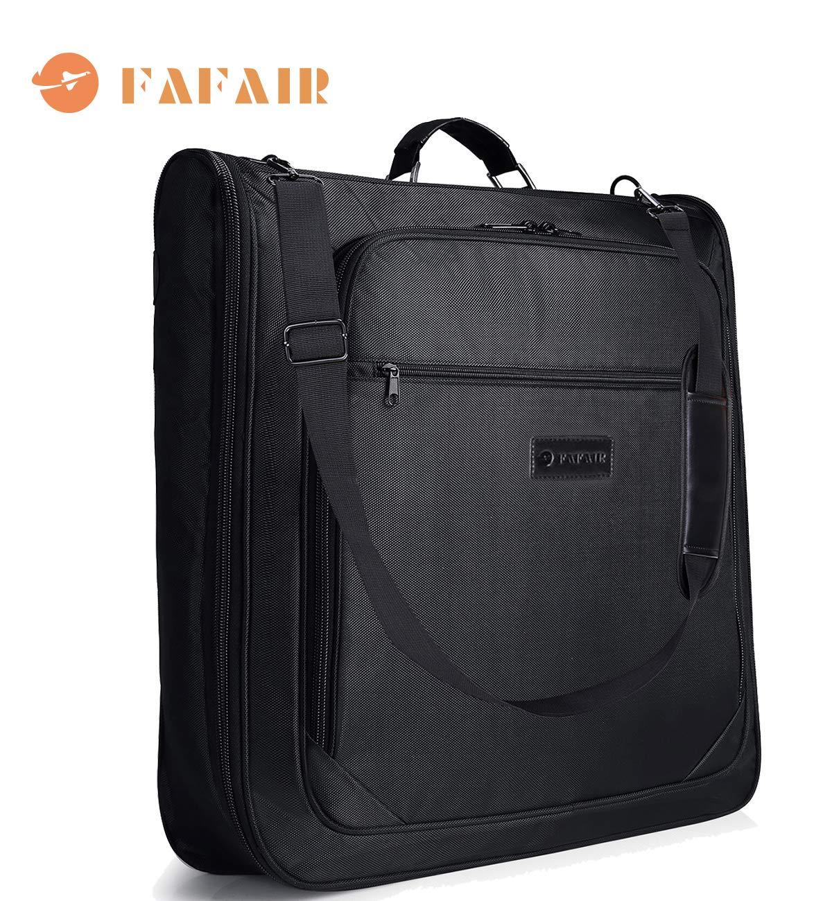 Carry On Garment Bag, Hanging Suit Bag/Carrier Weekend Bag Travel Business Trip