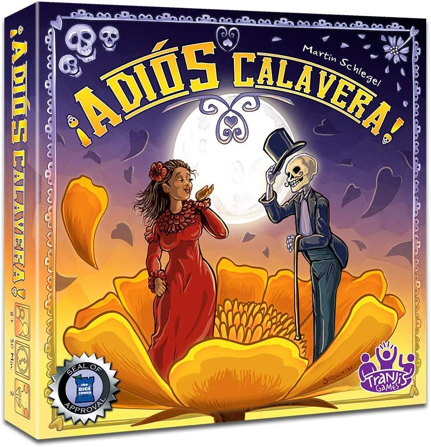 Tranjis Games - ¡Adios Calavera! - Juego de mesa (TRG-07adi): Amazon.es: Juguetes y juegos