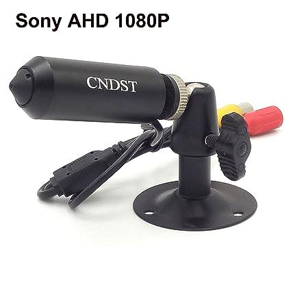 CNDST 2000TVL CCTV Sony 1080P HD AHD Mini cámara de seguridad estenopeica, Mini cámara oculta