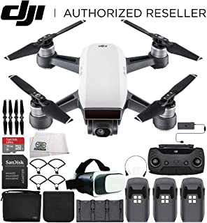 Amazon com: DJI Spark with Remote Control Combo (Red