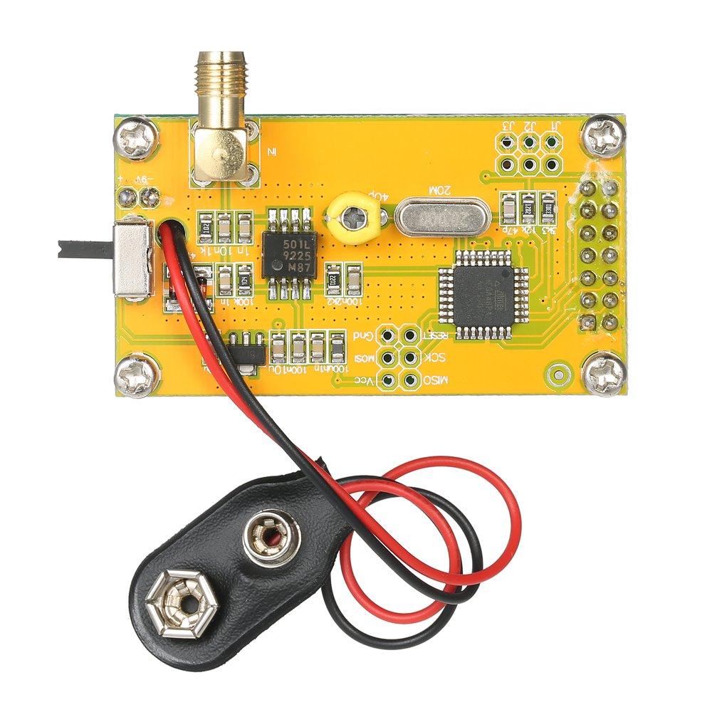 Contatore di Frequenza,Misuratore di Frequenza Modulo Frequenzimetro Bricolage Ad Alta Precisione e Sensibilit/à 1~500 MHz Tester Misurazione Modulo Display LCD