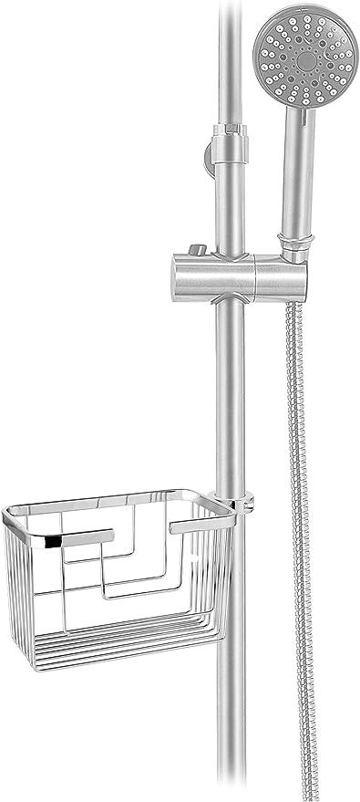 CM Bath Aqua916 Portagel para Columna De Ducha, Inoxidable/Brillo ...