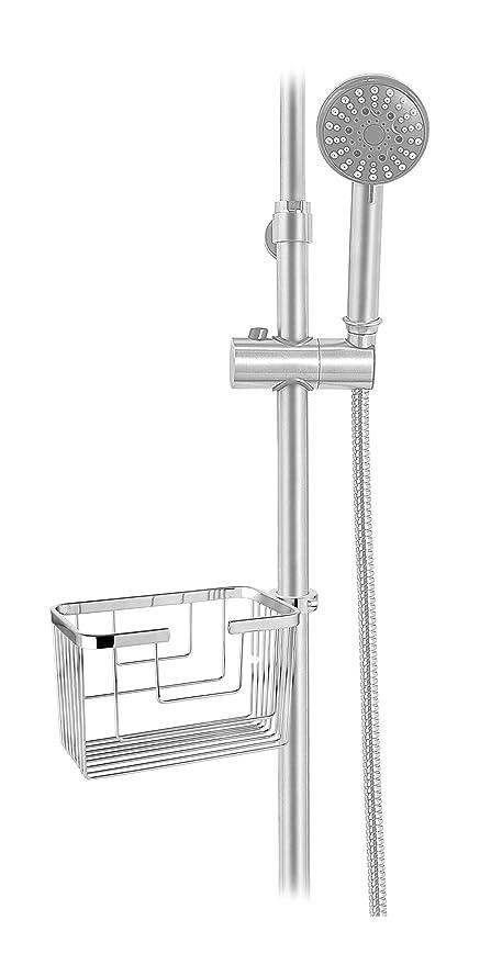 Cm Bath Aqua916 Portagel para Columna De Ducha, Inoxidable/Brillo, 245 X 115 X 130 Cm