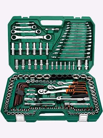 Auto repair tool set universal trinquete llave reparación coche ...