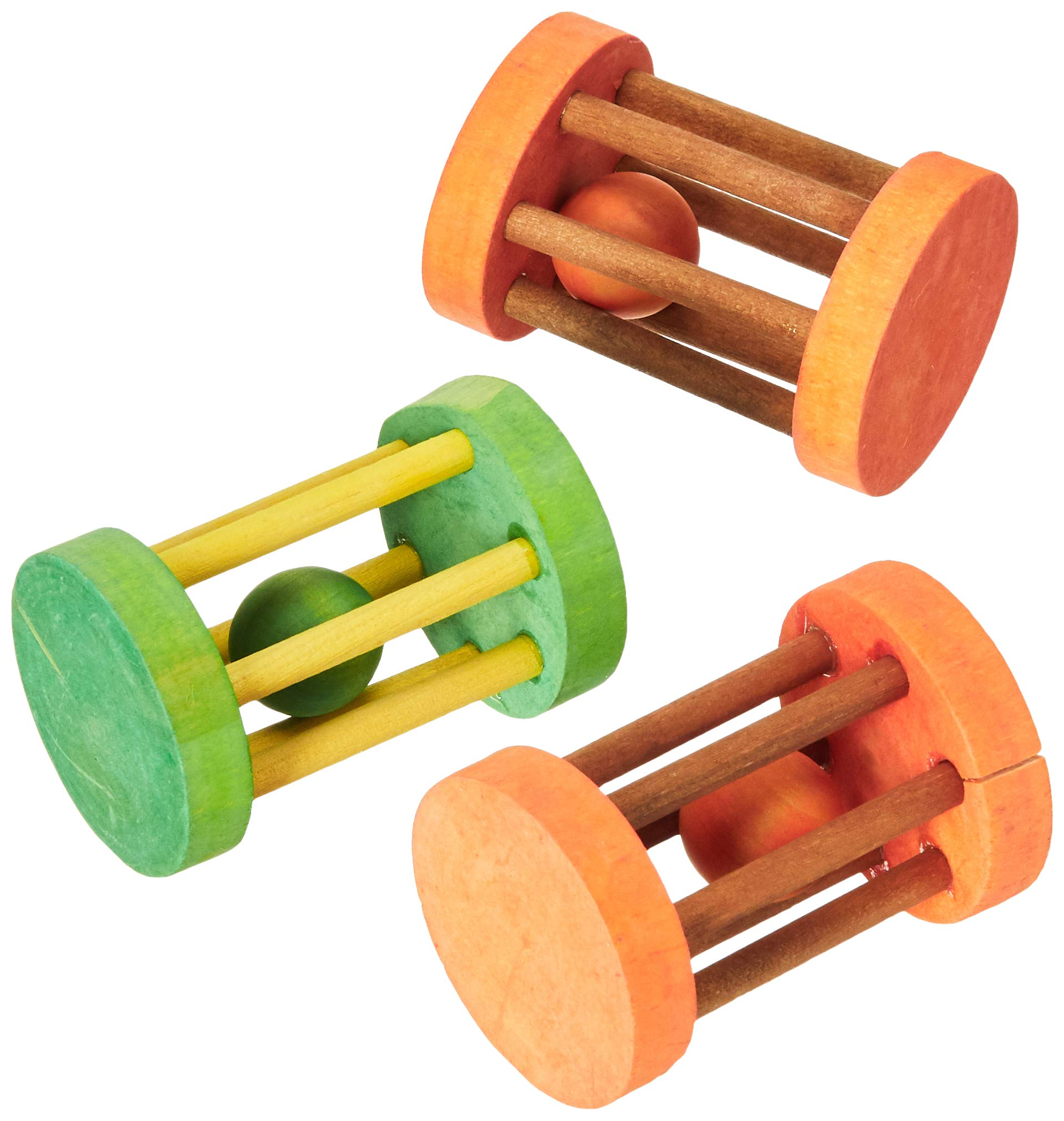 Ware Manufacturing (3 Pack) Barrel Roller Small Animal Chews- 3 Inch