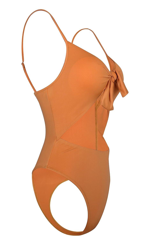 Bikini Mare a Fascia Donna a Triangolo Costume Nero Tinta Unita Push up Vita Alta Calzedonia