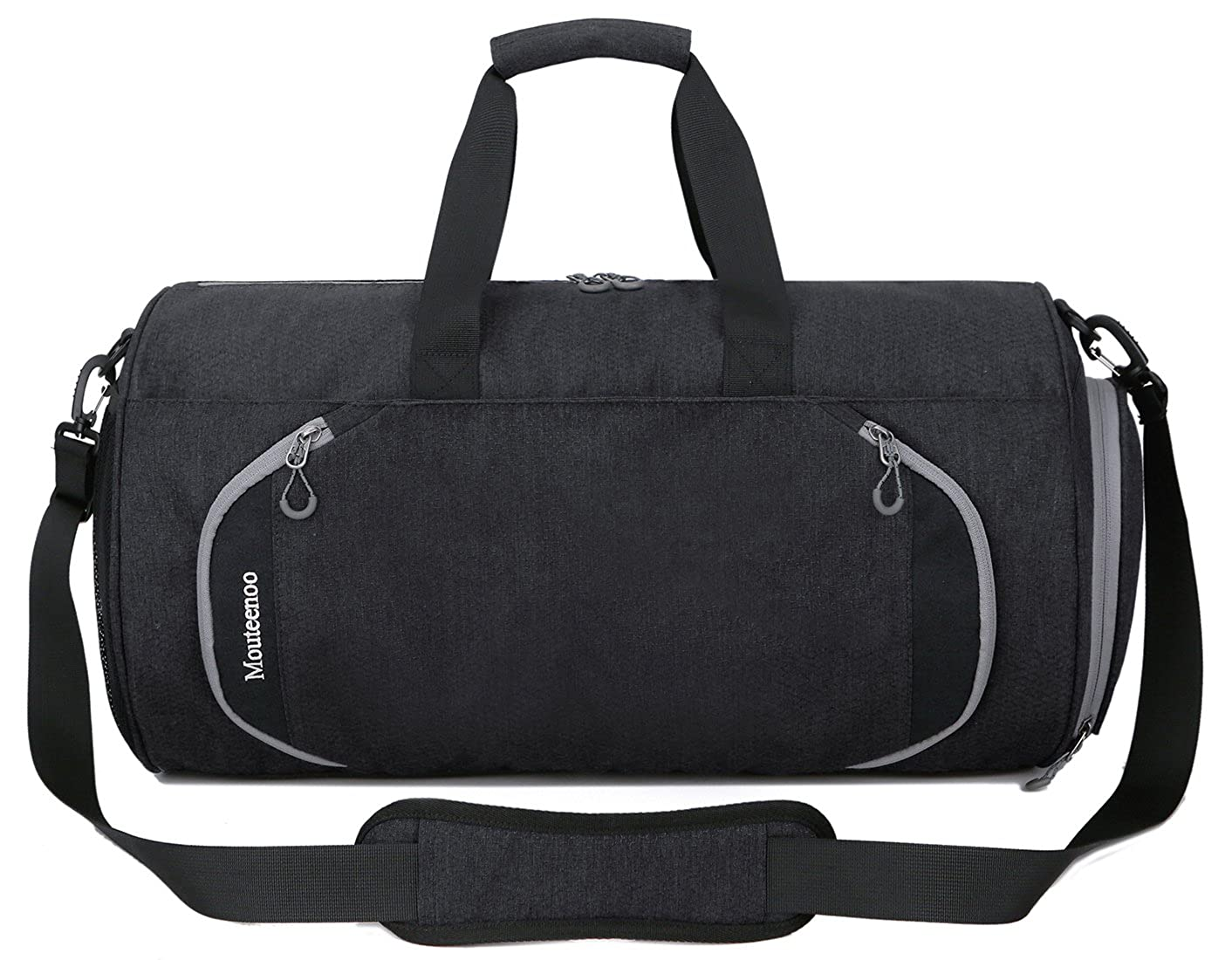 01664203533 Amazon.com   Gym Sports Small Duffel Bag for Men and Women with Shoes  Compartment - Mouteenoo   Sports Duffels