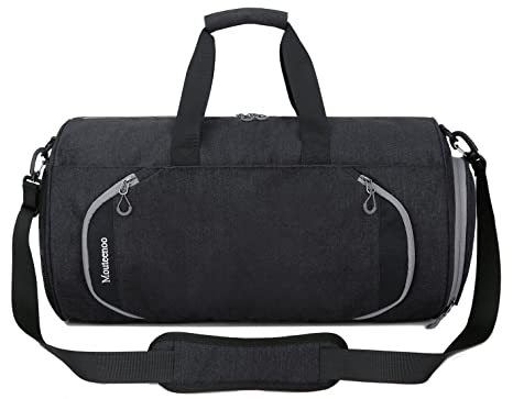 fedd25da30cb Gym Sports Small Duffel Bag for Men and Women with Shoes Compartment -  Mouteenoo (Small