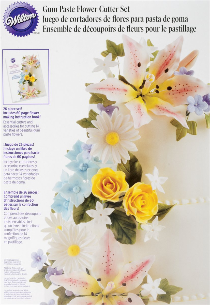 Amazon Wilton Gum Paste Flowers Set Discontinued By