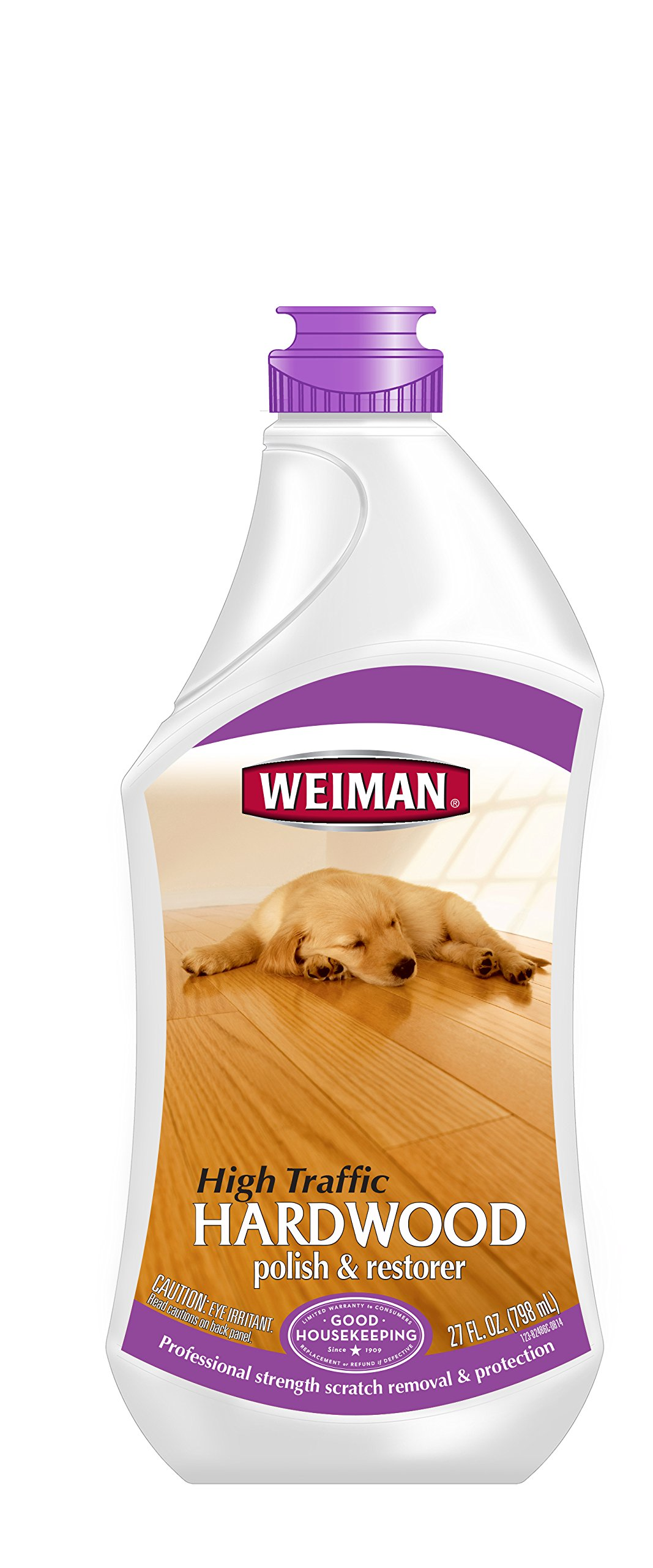 Weiman High Traffic Hardwood Floor Polish & Restorer 27 Fl Oz 1 12