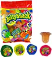 Jelly Snack Fruit Jelly Candy (Bag of 20 Jelly Cups)