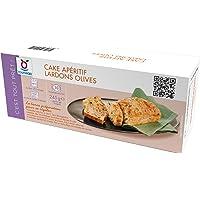 Cake surgelé apéritif lardon olive - 245 g