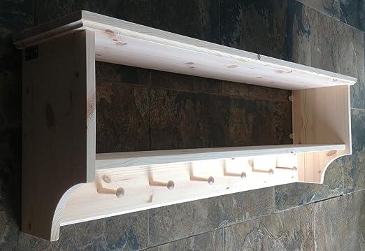 Original caja muebles sombrero y perchero con estante ...