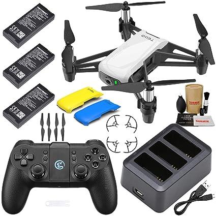 Tello Drone Quadcopter Boost Combo Plus con 3 baterías, hub de ...