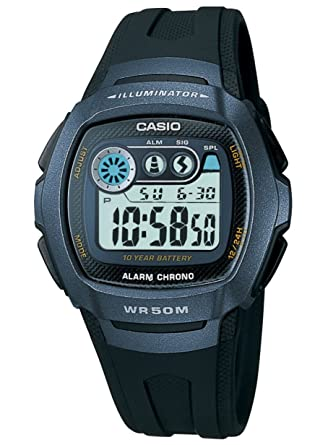 : Casio W 210 – 1BVES Mens Illuminator Digital