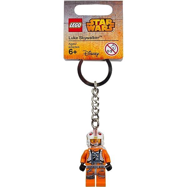 Lego Luke Skywalker Keychain//Keyring Star Wars 853947