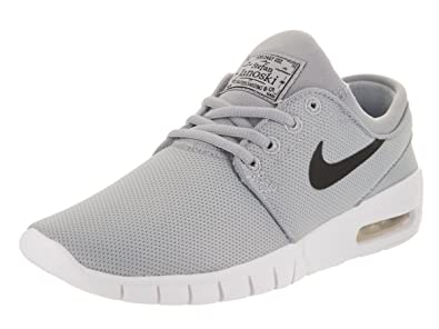 8b5678cc4a Image Unavailable. Image not available for. Color  Nike Kids Stefan Janoski  Max (GS) Skate Shoe Wolf Grey Black White