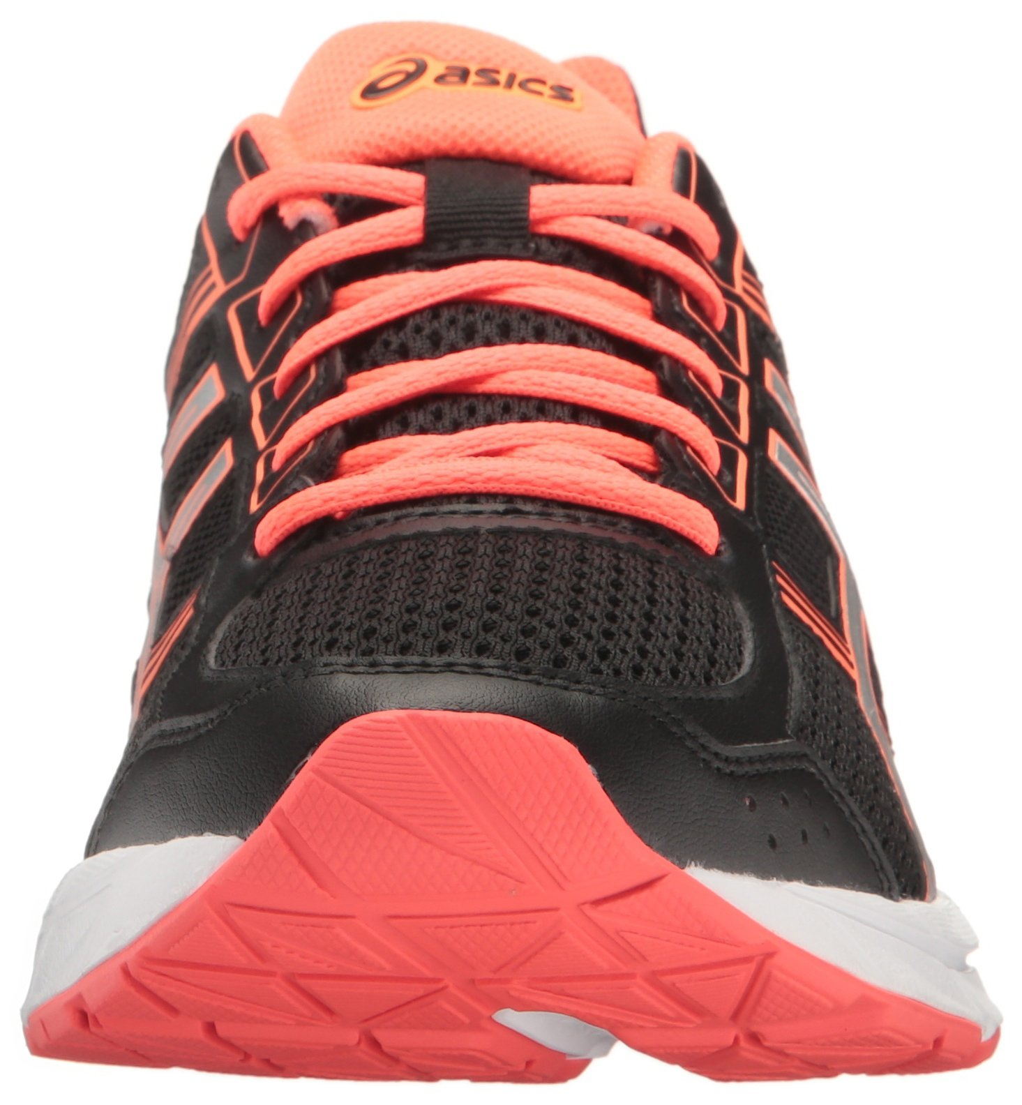 ASICS Women's Gel-Contend 4 Running Shoe, Black/Silver/Flash Coral, 5 M US by ASICS (Image #4)