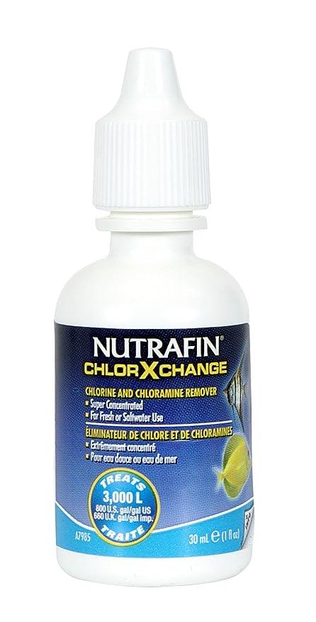 Nutrafin chlor-x-Change Extractor de Agua del Grifo, 1 Onza