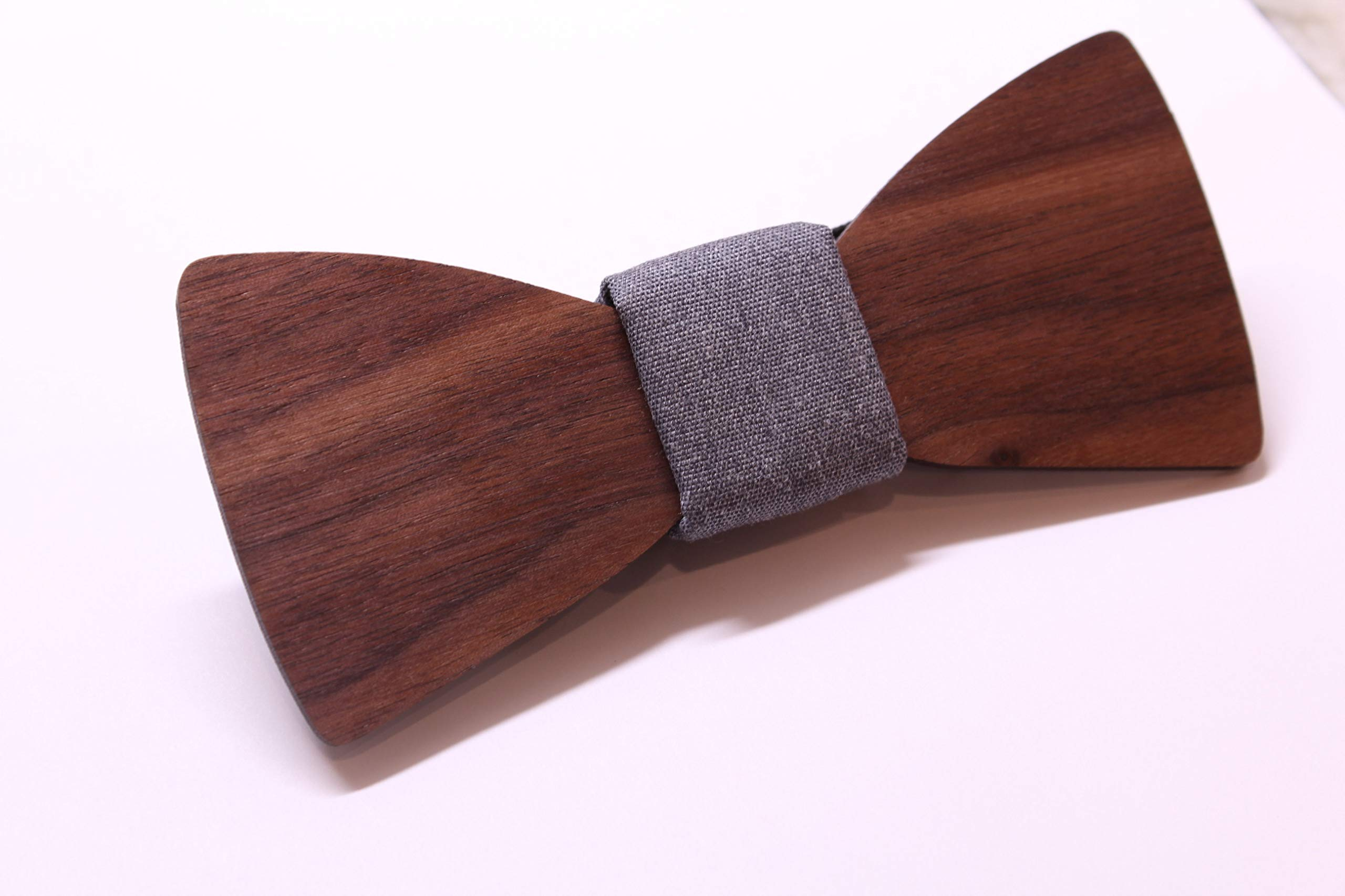 Bow Tie for Men, Wooden Bow Tie, Wedding Bowtie, Groomsmen Gift for Wedding