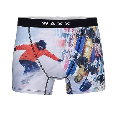 Waxx MEN/'S IN MICROFIBRA Trunk Boxer JOYRIDE