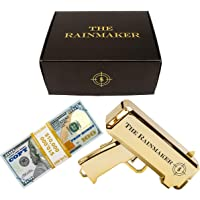 All Out Solutions The Rainmaker Money Gun   $10,000 Prop/Copy Money   Money Looks Real!   Metallic Gold   Impress Your…