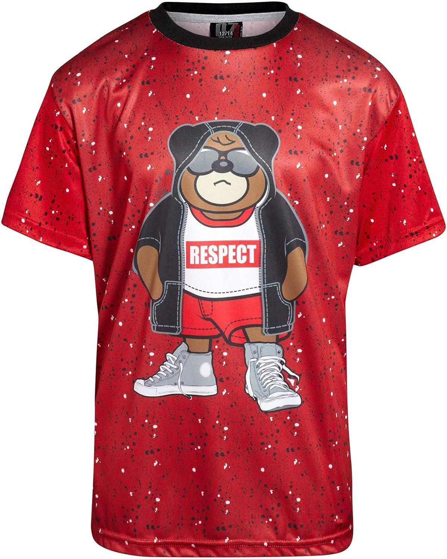 Quad Seven Boys 4-Piece Performance Mesh Basketball Short and T-Shirt Set