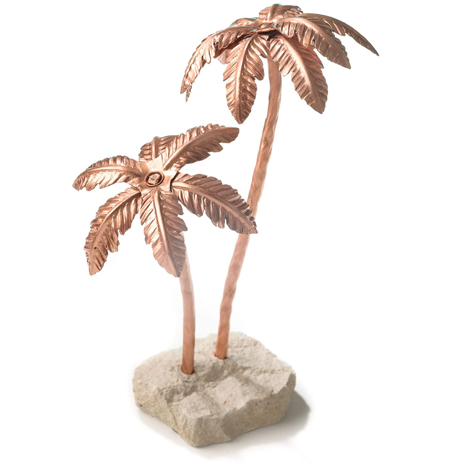 Copper Palm Tree - Unique 7th Anniversary Gift