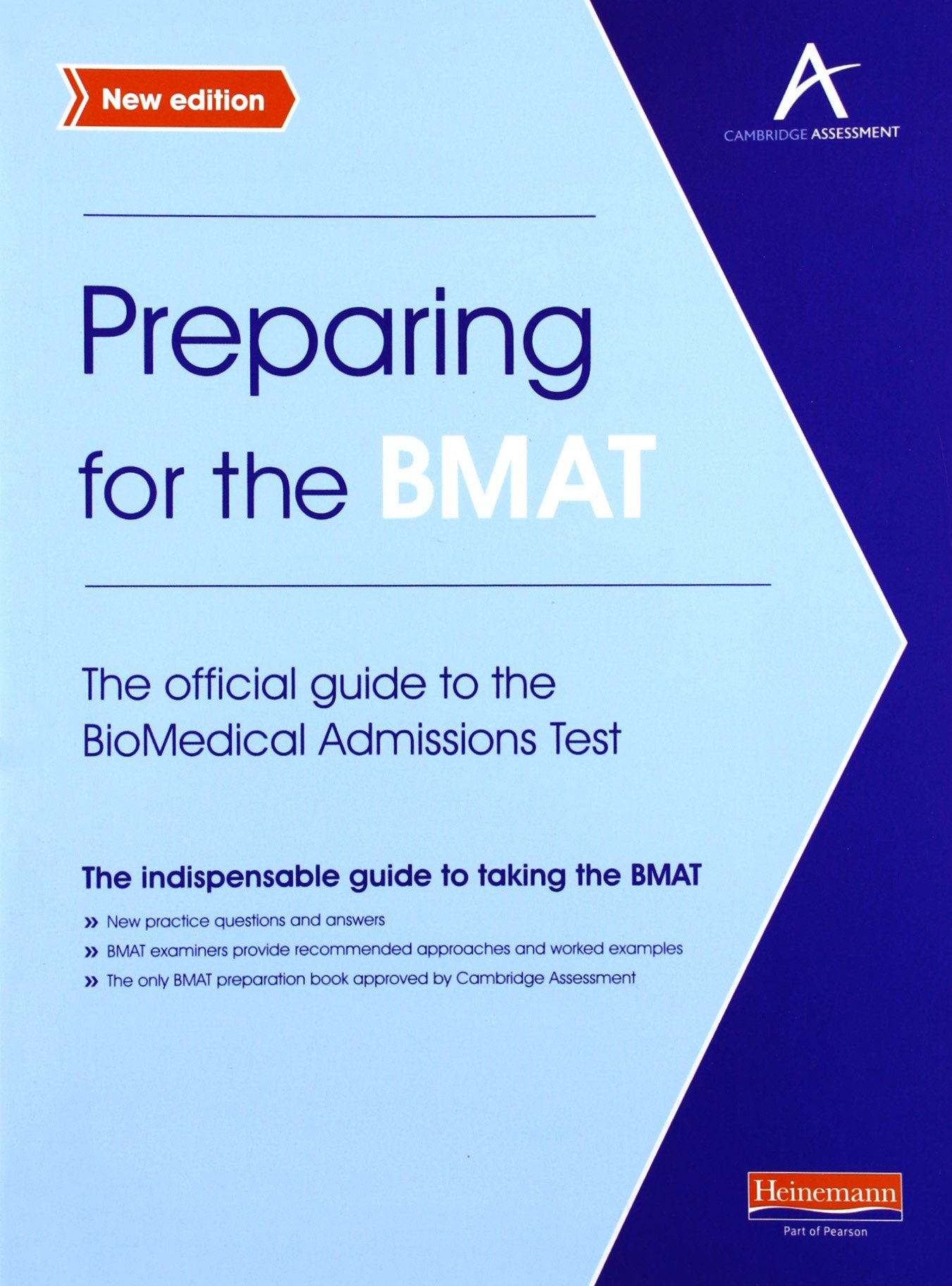 Preparing for the BMAT: The Official Guide to the BioMedical Admissions Test pdf
