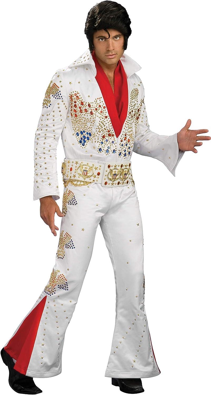 Disfraz de Elvis el inmortal Supreme para hombre - XL - S - M - L ...