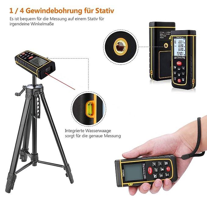 Laser-telémetros, Jetery láser digital de distancia y de la medición de la medición de distancia, superficies, volumen | + / -2 millimeter para la medición ...