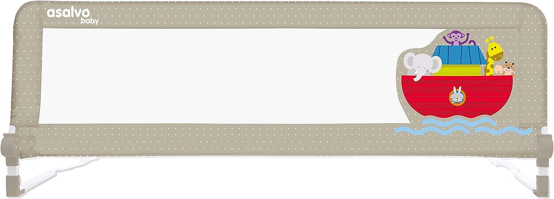 Asalvo 11985 - Barrera de Cama 2 en 1, Diseño Arca de Noé: Amazon ...