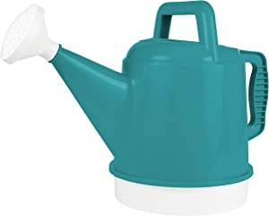 Bloem DWC2-26 Watering Can Deluxe 2.5 Gallon, Bermuda Teal Green