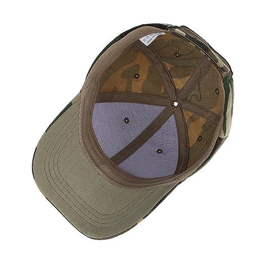 La Vogue Men Jingle Printing Baseball Hat Snapback Hat Camouflage Dad Hat Green at Amazon Mens Clothing store: