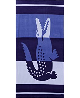 Lacoste Duke Beach Towel Blue