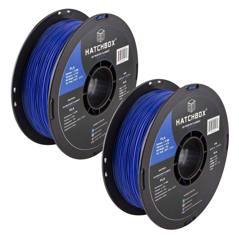 Amazon.com: HATCHBOX PLA 3D Printer Filament, Dimensional ...