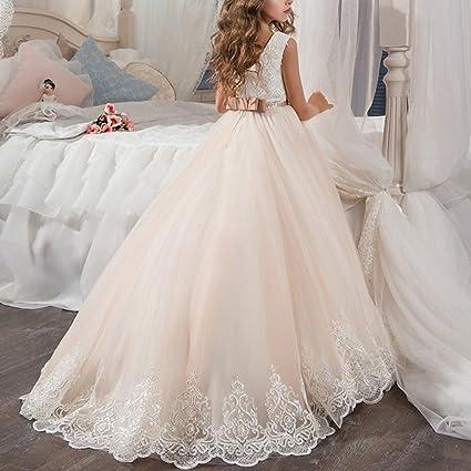Amazon.com: IBTOM Castle - Vestido largo para niñas, diseño ...