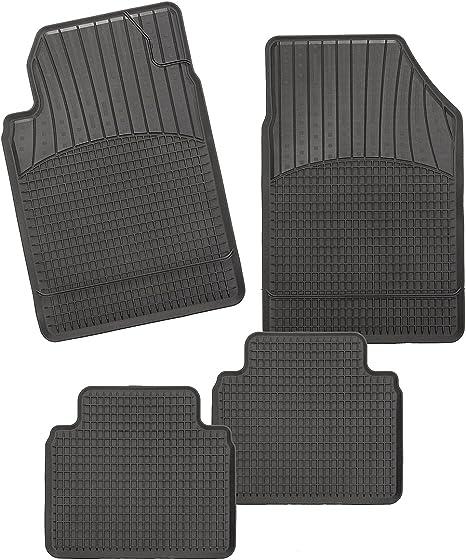 Allwetter Auto Schalenmatte A1 Tpe Gummi Fußmatten In Schwarz Auto Fußmatten Set Ohne Mattenhalter In Automatte Auto