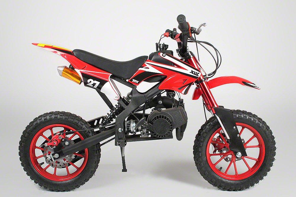 Minimoto Motocross Dirtbike Apollo de 49 cc, 10