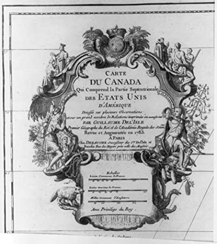Carte Canada Uni.Amazon Com 1783 Photo Carte Du Canada Qui Comprend La Parue