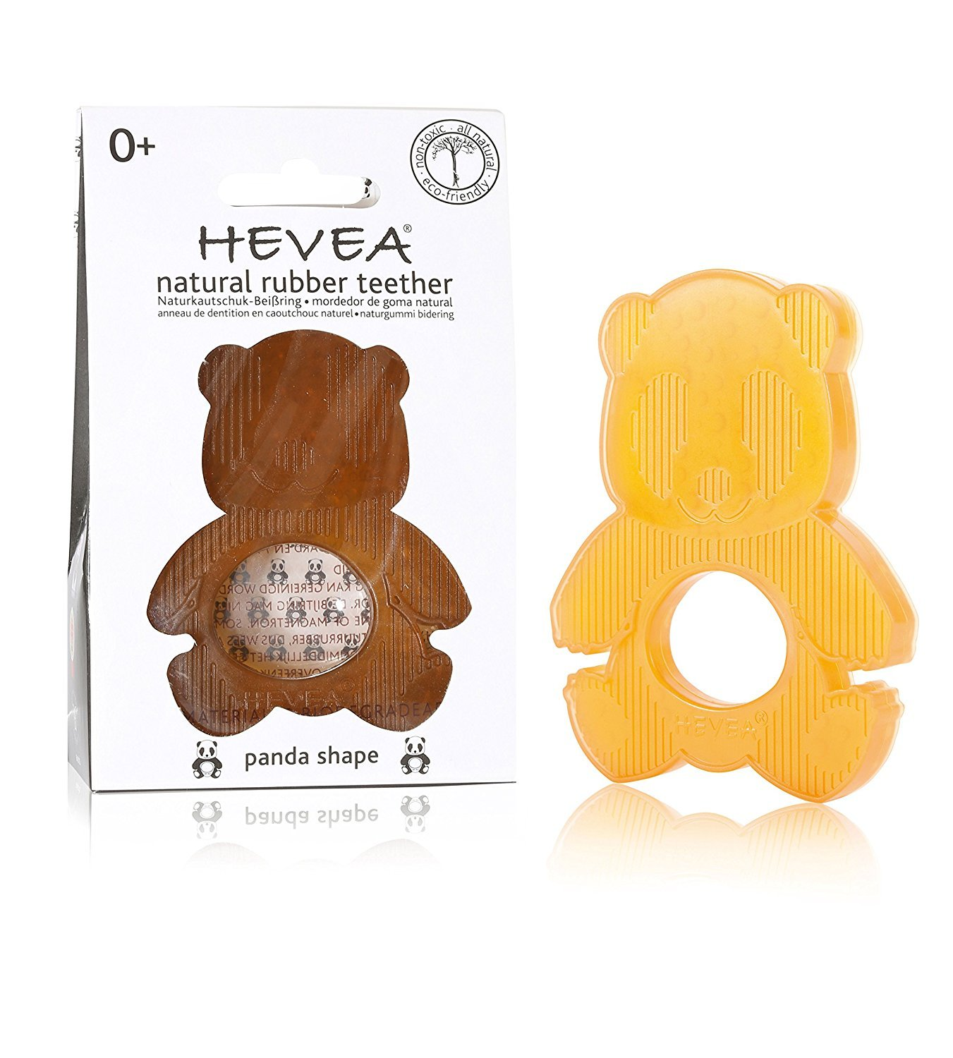 Hevea Anneau de dentition Panda Orange