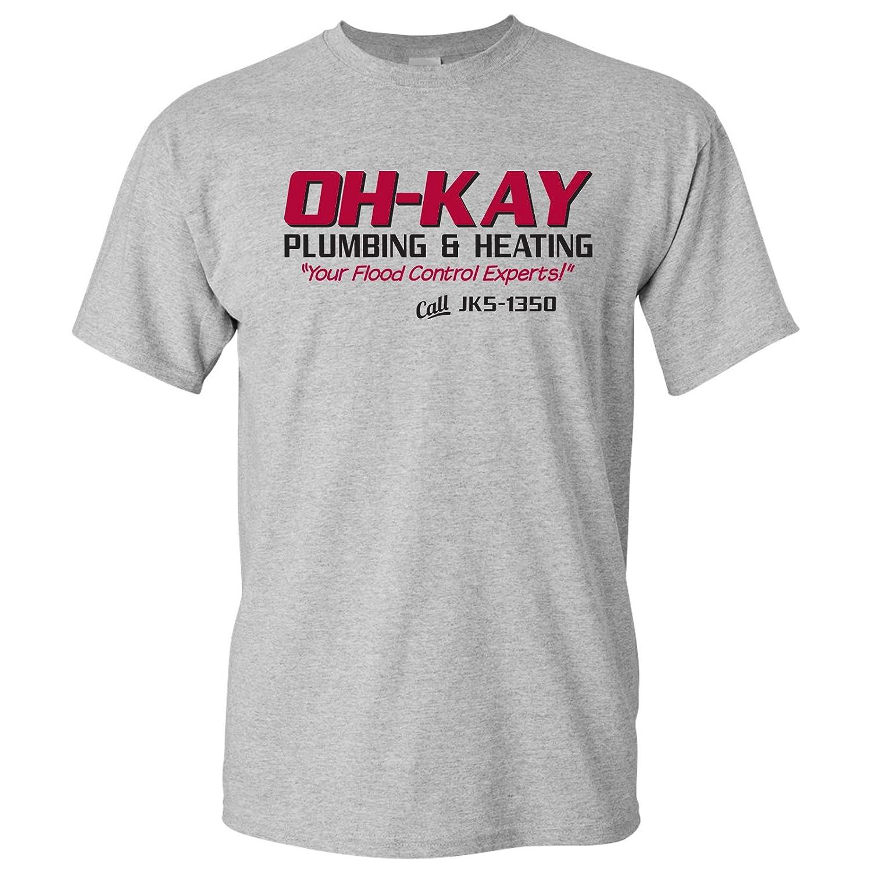 Oh Kay Plumbing & Heating Funny Christmas Movie T-Shirt