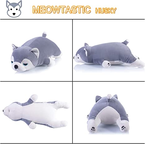 meowtastic Dinosaur Plush Pillow Toy Stuffed Animal Throw Pillow for Baby Boy Girl Pet 25 Inches