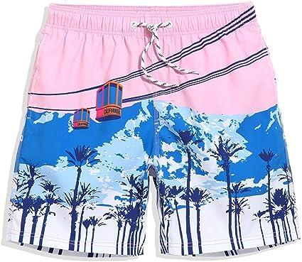 Los Hombres De Los Troncos De Nadada De Los Pantalones del Verano De Secado
