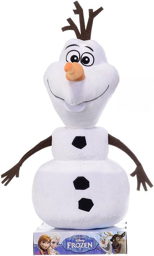 La Reine des Neiges Olaf le bonhomme de neige disney peluche ...